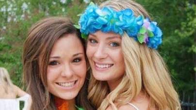 Cheerleader sisters killed when their convertible crashed into house