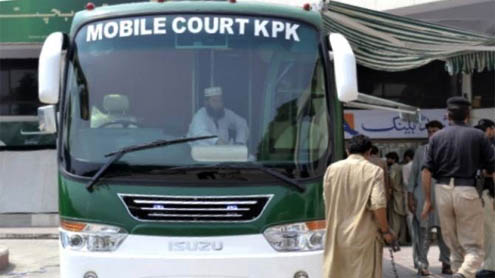 Country's first 'mobile court' decides 30 cases