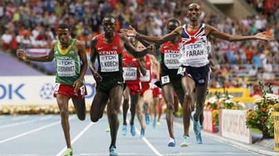 Farah becomes only second-ever athlete to win 5km and 10km double in Olympics