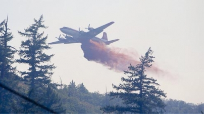 Feds running out of wildfire money