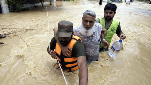 Floods bring more Disaster; 46 Dead