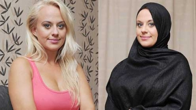 Glamour model Carley Watts convert to Islam after falling for Tunisian lifeguard