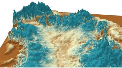 Huge canyon discovered under Greenland ice