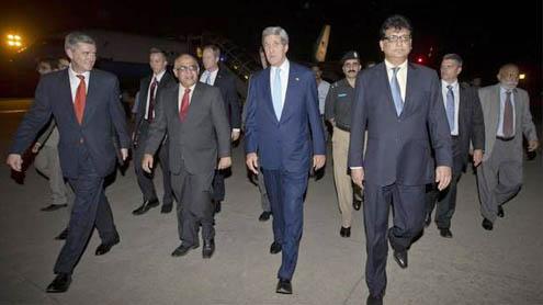 Kerry's visit