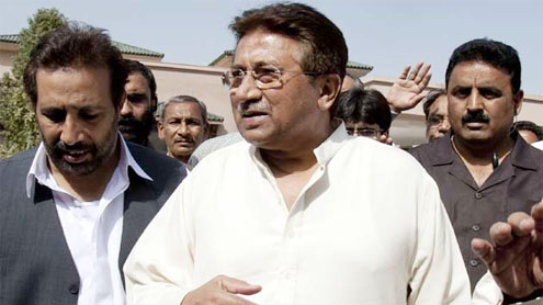 Musharraf' 6 others indicted in BB murder case