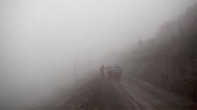 Sun abandons Peru capital for months