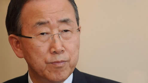 UN Secretary-General to arrive Tuesday