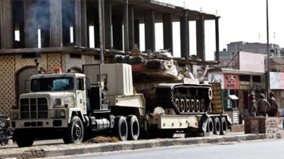 20 killed as Egyptian tanks, helicopters push through Sinai