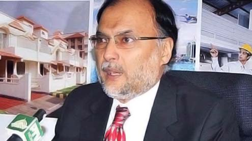 Ahsan Iqbal reviews Balochistan small-dam projects