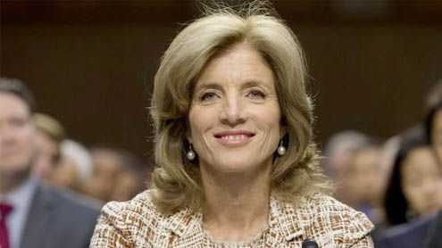 Caroline Kennedy, ambassador-designate, has confirmation hearing