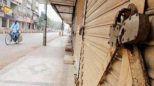 MQM's ex-MPA arrested; Karachi shuts down