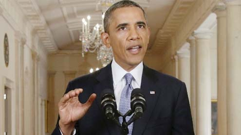 Obama seeks support for attacking Syria while pursuing diplomacy