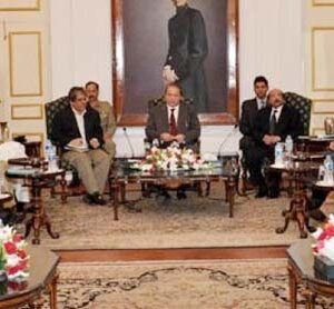 PM asks political parties to give input for Karachi's peace