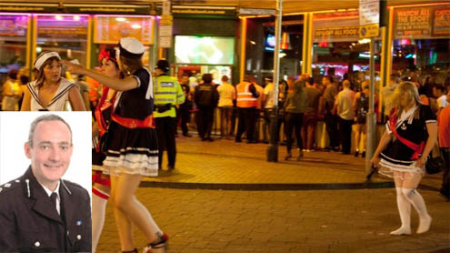 Police chiefs brand pubs to cope with late-night mayhem