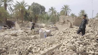 Quake kills 55, topples homes in Balochistan