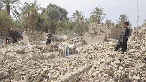 Quake kills 55, topples homes in Balochistan