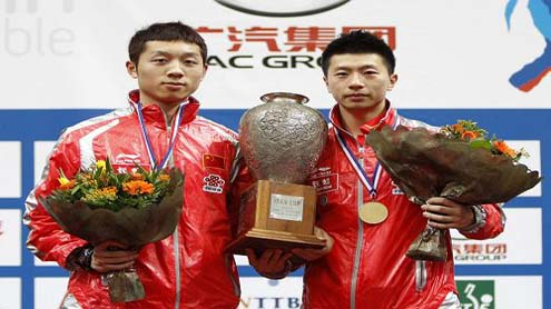 Table Tennis World Cup: China's Xu Xin Wins men's Crown