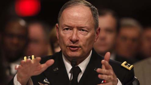 Army General Keith Alexander