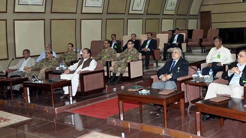 Pakistan not in Arms Race with any Country, says Sharif
