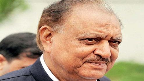 President mamoon hussain.