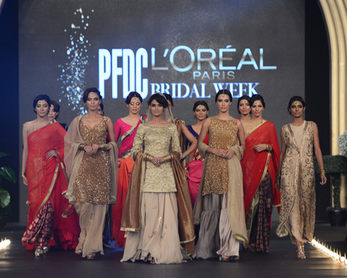 PFDC L'Oreal Paris Bridal fashion2013