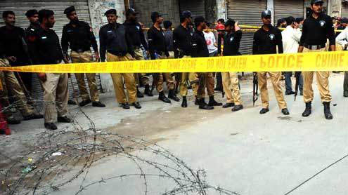 Blast in Lahore Injures Eight