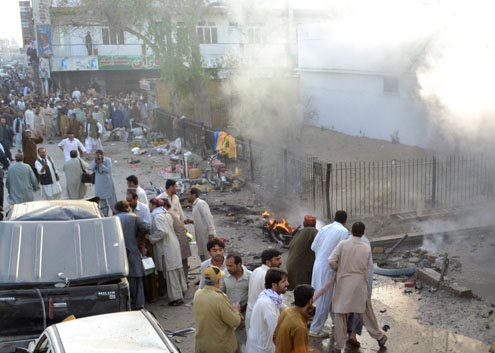 Bomb Blasts Kill 10 in All Four Provinces