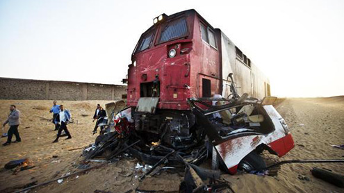 Egypt train cras