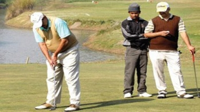 Rashid and Dr.Dildar Front Runners in Millat Governors Cup Golf