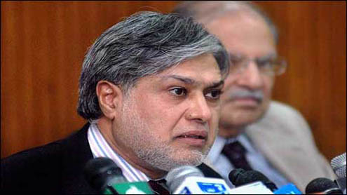 Finance Ministry Ishaq Dar