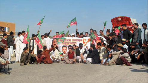 PTI activists