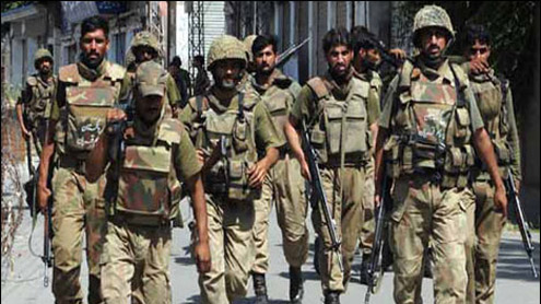 Army, Rangers to be Deployed in 13 Districts of Punjab
