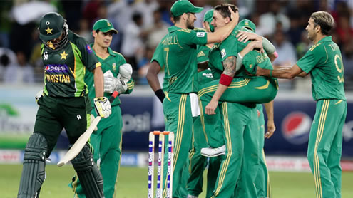 SA Beat Pakistan T20 Series
