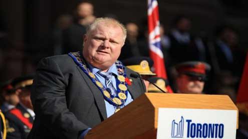 Mayor Rob Ford refuses