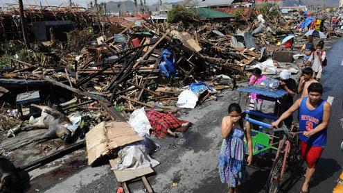 US, British Warships sent to typhoon-hit Philippines