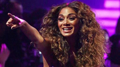 Nicole Scherzinger Denies viewer Claims she was drunk during X Factor