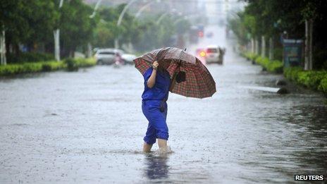 Haiyan roars