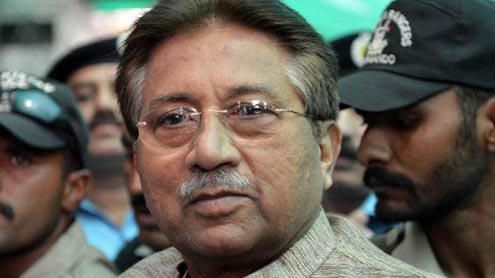 Govt to Press Five Charges Against Musharraf
