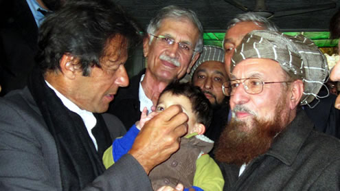 Imran Khan Assails 'those who Attack Polio Workers'