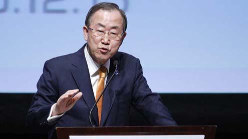 UN chief Ban 'concerned' by Thailand violence