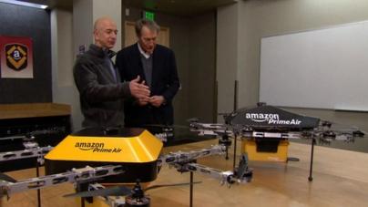 Amazon Unveils Futuristic Mini-Drone Delivery Plan