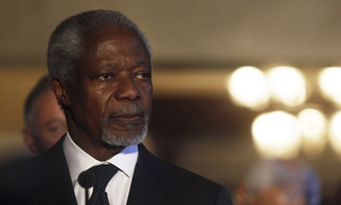 Annan Launches Elders Mission to Iran