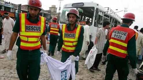 Blast Kills Eight, Injures 20 in Rawalpindi