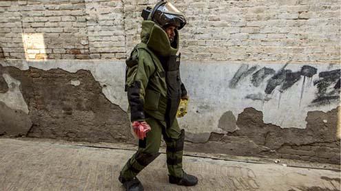 Pakistan's top bomb disposal unit