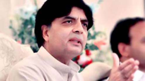 Ch Nisar says 'Sincere Efforts' Underway to Bring Taliban to Table