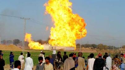 Militants Blow Up Gas Pipelinein Dera Bugti