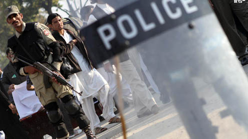 Police arrests 48 suspects during raids in Rawalpindi