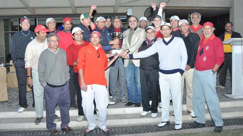 Royal Palm Winners Rostrum in the Inter Club Golf Match