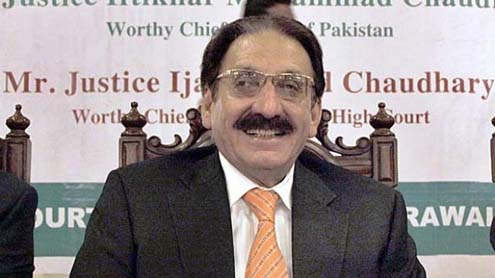 ex chief justice of pakistan
