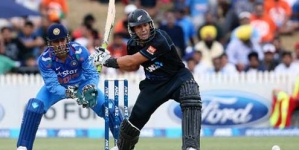 New Zealand Beat India in Rain-Hit Second ODI